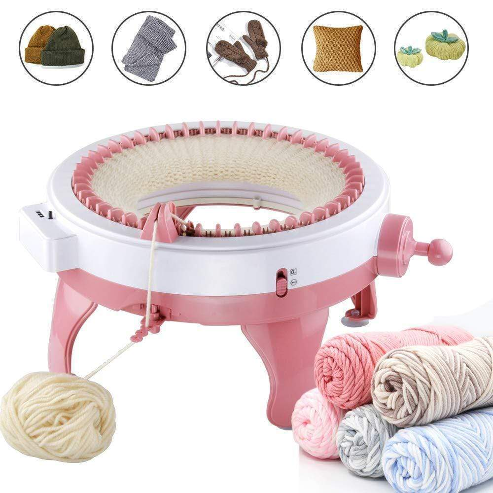 DIY Knitted Machine +Parent-Child Toy(Can knit hats, scarves, socks, pumpkins, etc.)