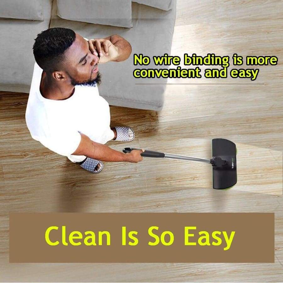 Home Electric Rechargeable Cordless Rotary Mop Powered Floor Cleaner Scrubber Polisher Mop