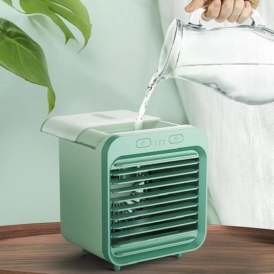 (🎉Hot Sales 🎉50% OFF!!!)USB rechargeable air conditioning fan spray fan