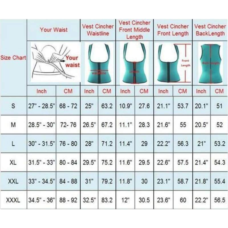 Plus Size S-5XL New Women Sweat Enhancing Waist Training Corset Waist Trainer  Women's Casual Sauna Suit Hot Shaper Sport Vest