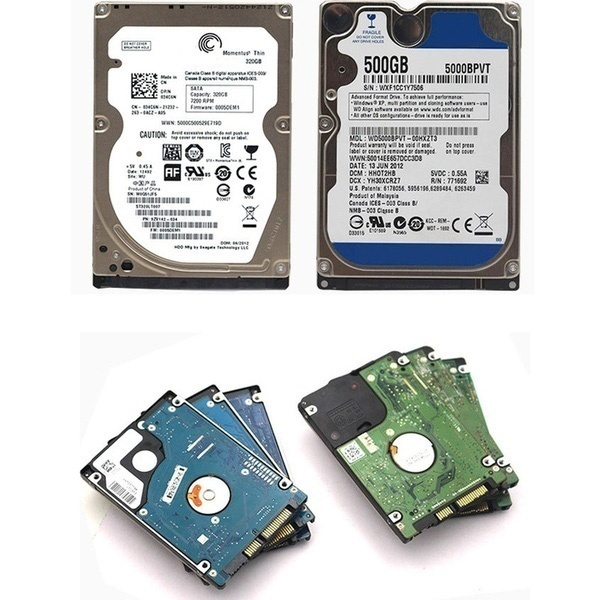 99% NEW 160GB/250GB/320GB/500GB hard drive  2.5 Inch SATA Interface Hard Drive Disk/HDD for Laptop /Notebook Computer