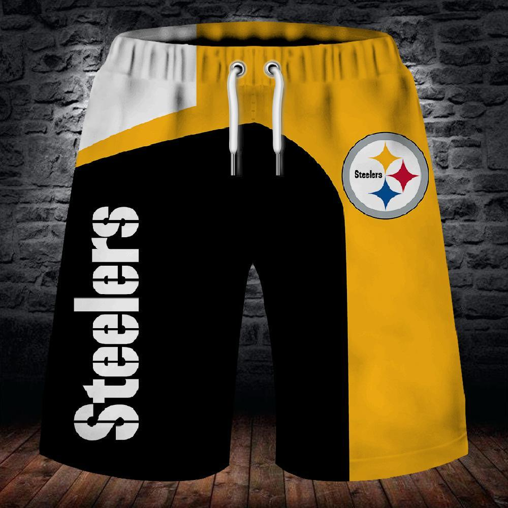 Pittsburgh Steelers Summer Beach Shorts