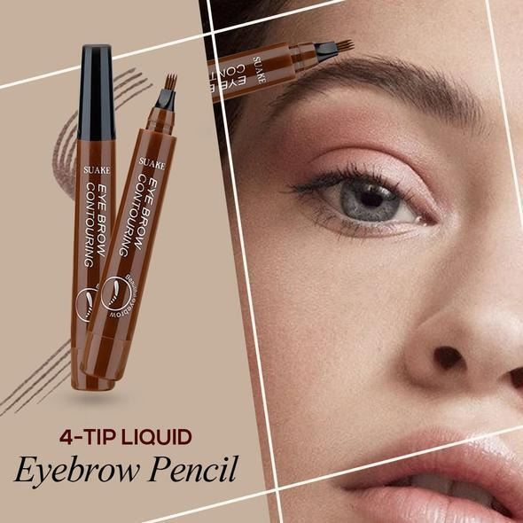(❤️Mather's Day Flash Sale - 50% OFF) 4 Points Eyebrow Pen  & Buy 2 Get Extra 10% OFF