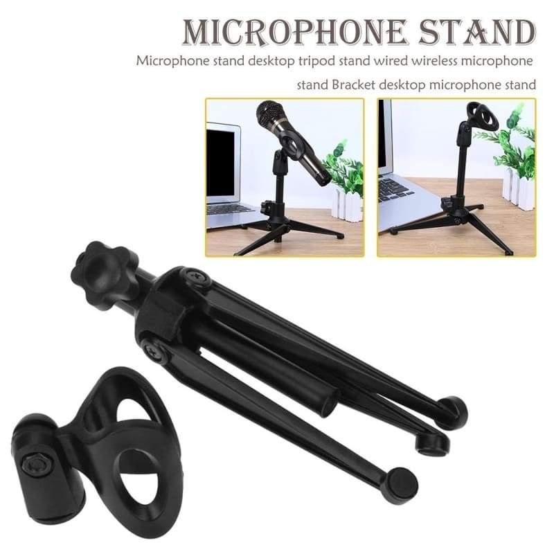 Microphone stand desktop tripod stand wired wireless microphone stand Bracket desktop microphone stand