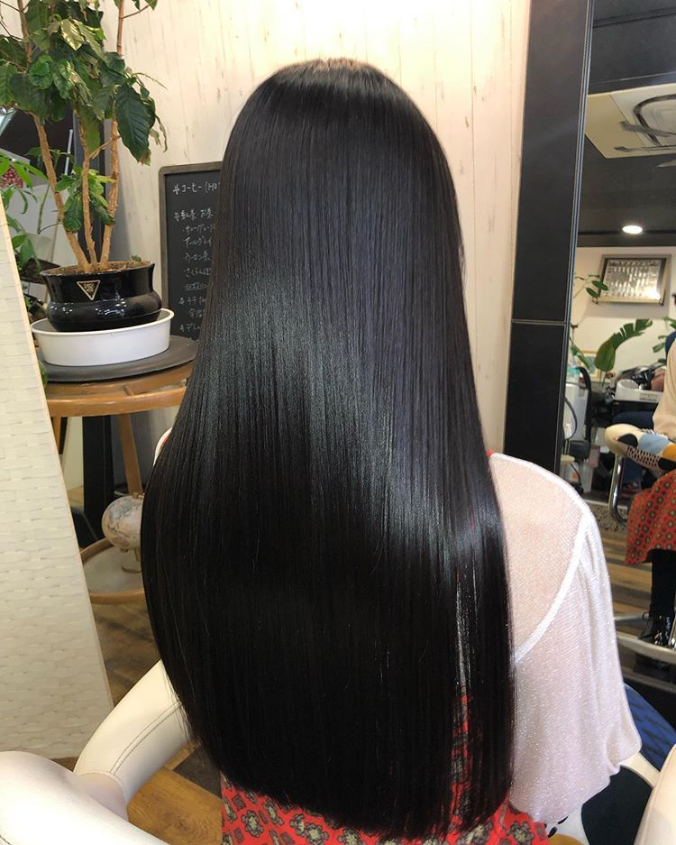 2020 New Straight Wigs Black Long Hair Straight Weave Ponytail Straight Wigs For Black Women