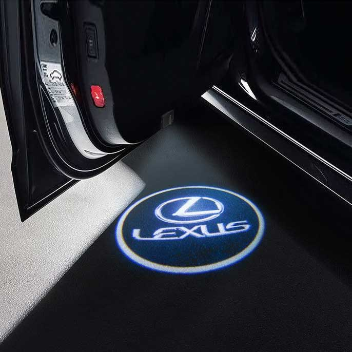 CarFitg Wireless Led Car Door Projector Puddle Logo Light - LEXUS
