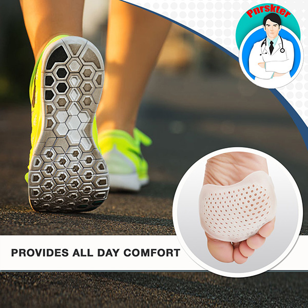 Last day 50% OFF- Silicone Honeycomb Forefoot Pad