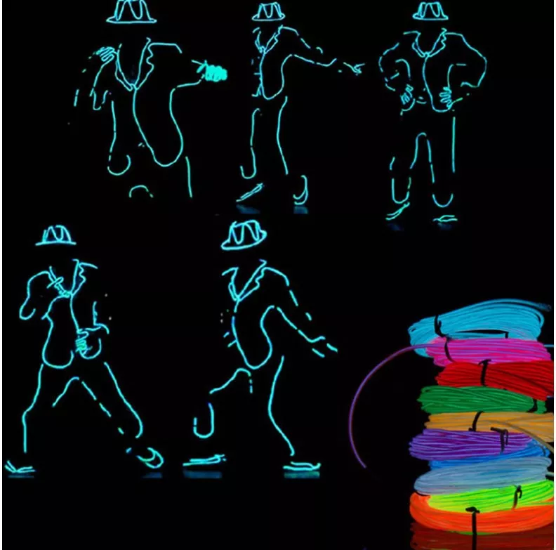 【Buy 2 Get Free Shipping】LED stickman costume