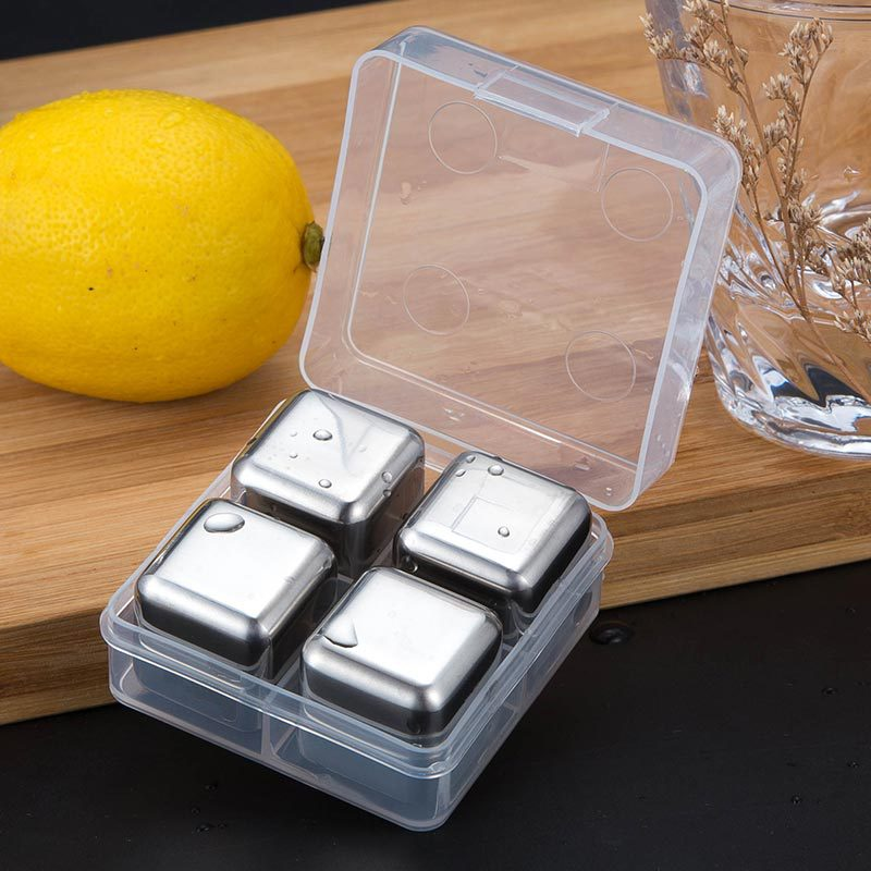 STAINLESS STEEL ICE CUBE 2020