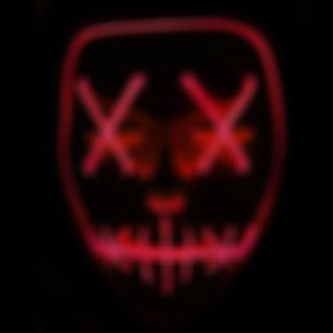 LED Light up Purge Mask for Festival Cosplay Costume