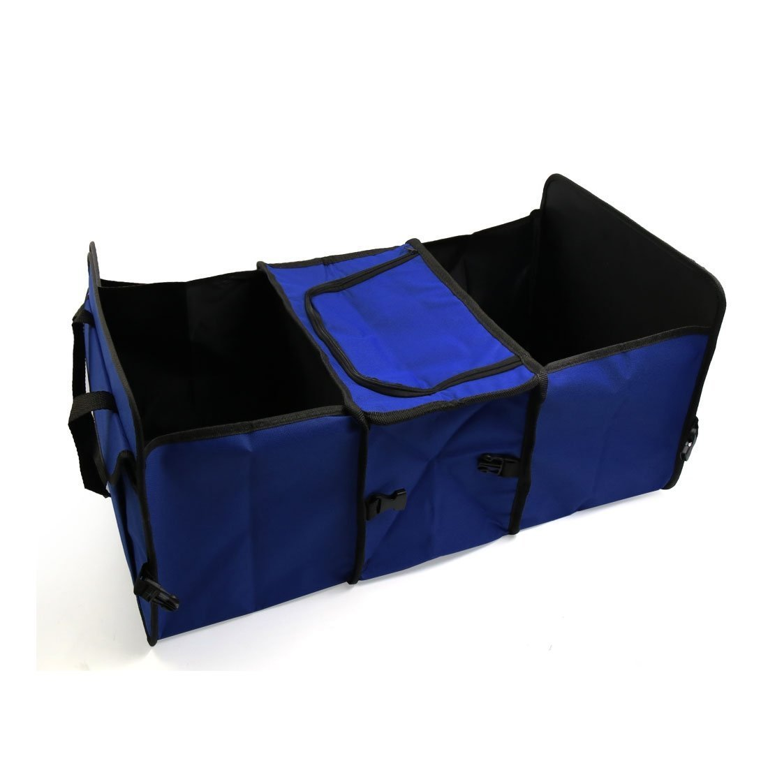 SKRTEN Multi-functional Folding Trunk Car Boot Organizer Bag with 3 Compartments