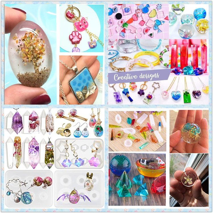 DIY Resin Crystal  Jewelry Mold Set 【50% OFF Today Only】