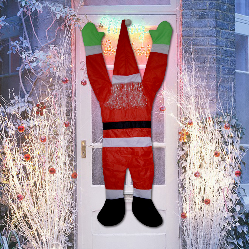 【Only 100 orders left】Christmas family door and window ornaments