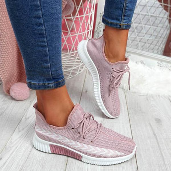 Lemmikshoes Running Trainers Lace-Up Sneakers
