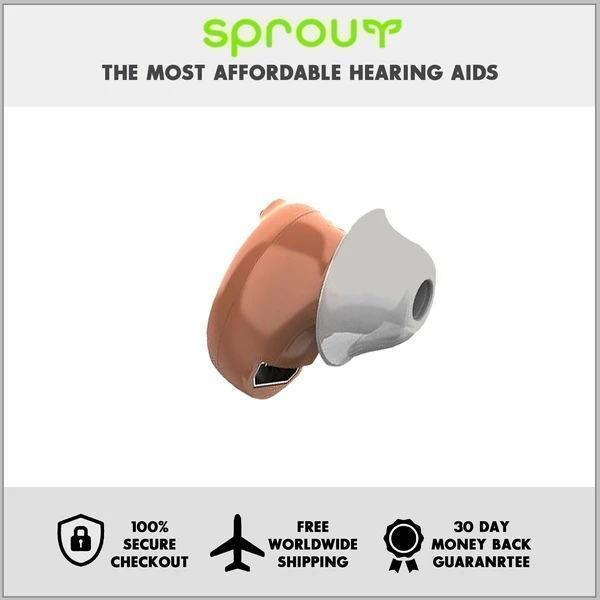 HIGH-QUALITY, 360° SOUND INVISIBLE NANO HEARING AID【2 Ears】