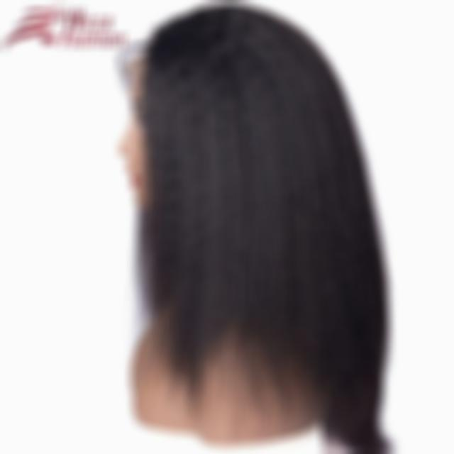 Lace Front Black Wig 613 hair with dark roots 20 inch Lace hair lace front wig