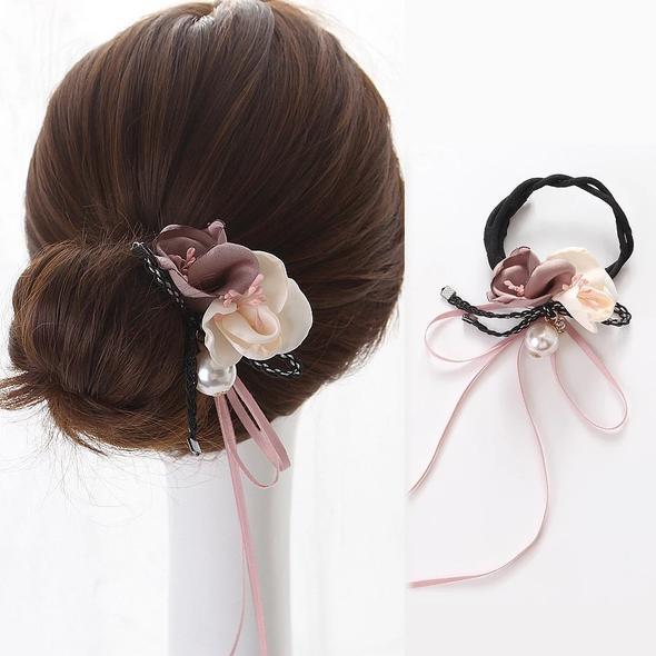 (50% OFF TODAY)💖Tie-it-Cute Hair Buns