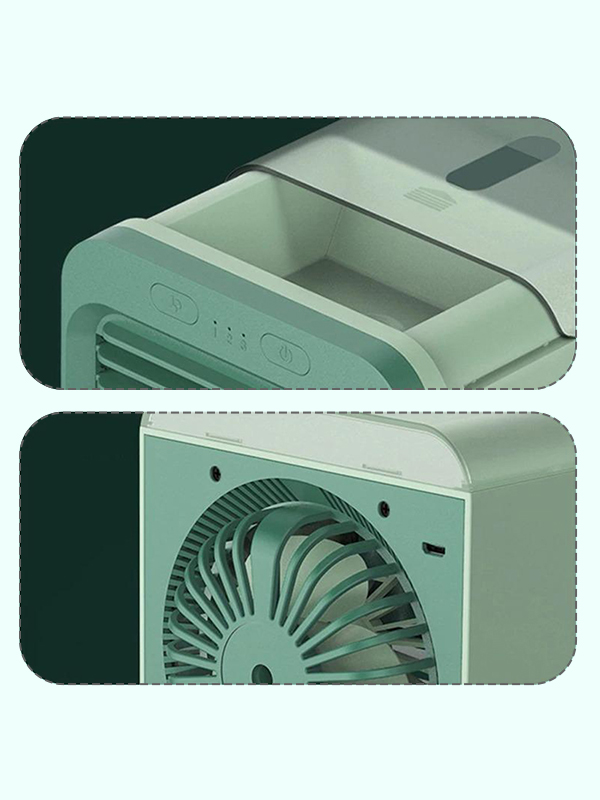 2021 Rechargeable Water Cooler Fan Air Conditioner for Home Office