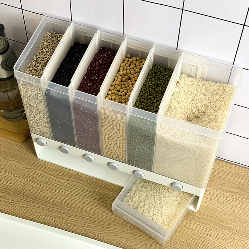 Wall Mounted Dry Food Dispenser - Cereal Wall Mounted Dispenser
