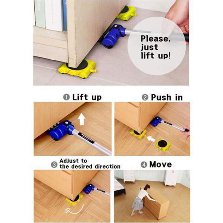 AHOME7 - Easy Furniture Lifter Mover Tool Set