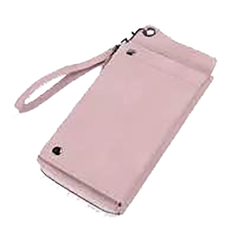 Vintage frosted long multi-function clutch