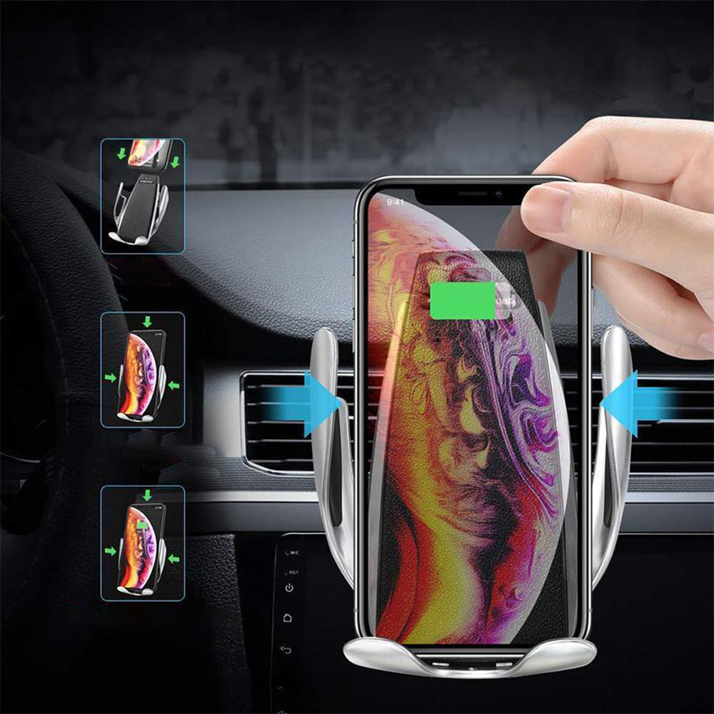 Higomore™ Magic Clip Car Infrared Fast Wireless Charger