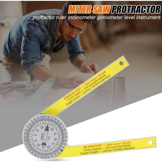 Thanksgiving Promotion 50% OFF--PROFESSIONAL MITER PROTRACTOR
