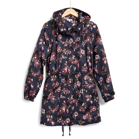 Packable Raincoat in Garden Dream