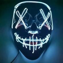 50% OFF-LED Halloween Purge Mask