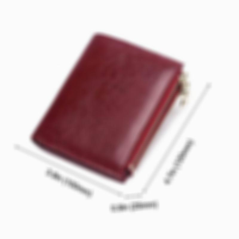 RFID Large Capacity Coin Pocket Short Wallet(Buy 3 Get 15% Off By Code:  BUY3)