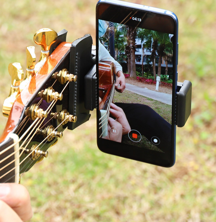 2020 Guitar Head Clip Mobile Phone Holder