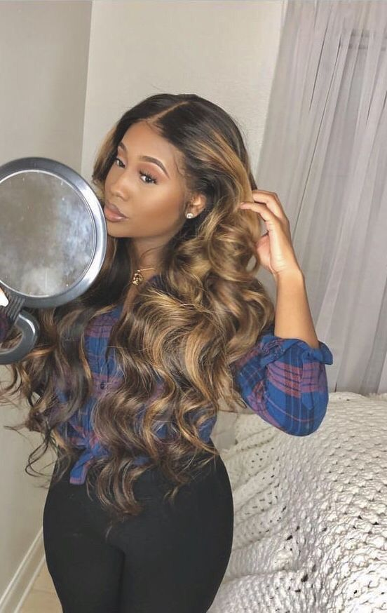 Lace Front Wigs Brown Wigs Blonde Wigs Honey Blonde Synthetic Lace Front Wigs Blond Ash Wigs For Black Women