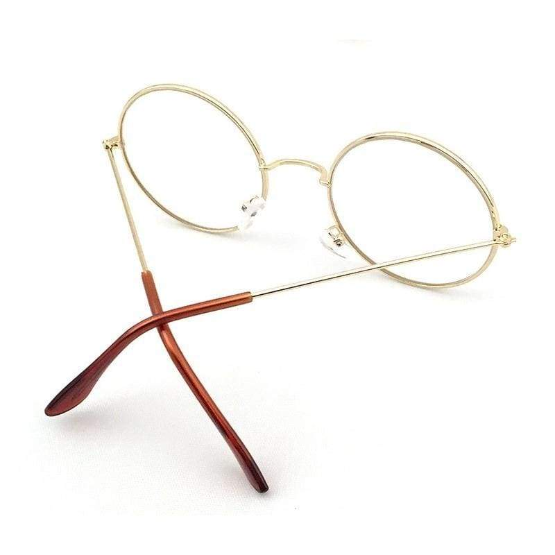 Vintage Round Glasses Men women Glasses round metal Frame Retro Luxury Eyewear Clear Glasses unisex Optical Frame