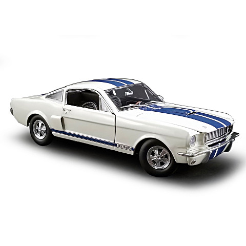 BUY 1 GET 2🚘1:18-Scale '66 Shelby GT350 With Paxton Supercharger Diecast Item