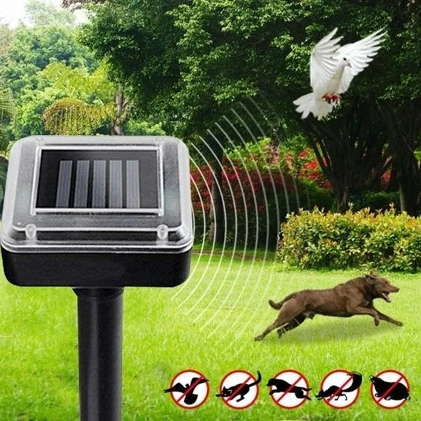 🔥 Solar Power Ultrasonic Sonic Mouse Rodent Repeller🔥 Buy 3 Get 2 Free & Free Shipping