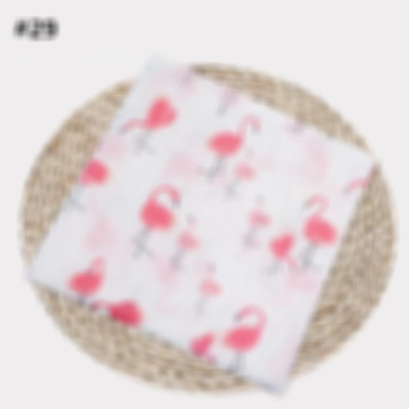 Large 120*120cm size Gots Certified 100% organic cotton muslin swaddle blanket baby Naturel and safe bamboo and 100% muslin baby swaddle