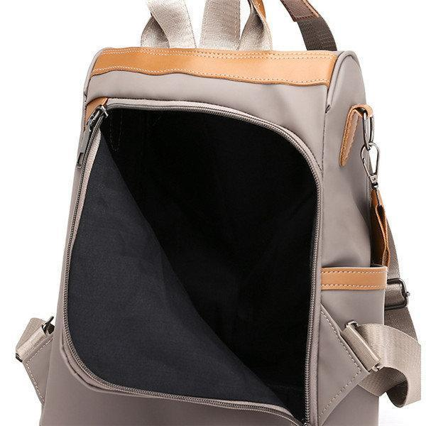 Women Anti-theft Backpack Oxford Cloth Leisure Multi-function Shoulder Bags