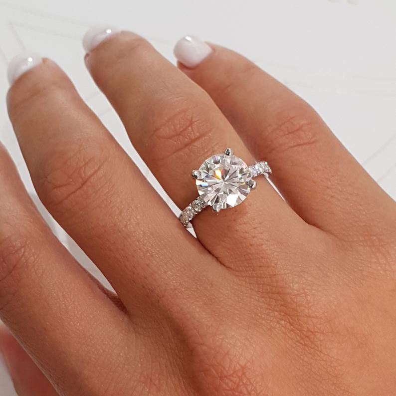 2020 New Rings For Women Silver Imitation Jewellery Square Halo Engagement Rings Morganite Halo Ring Xixi Jewelry