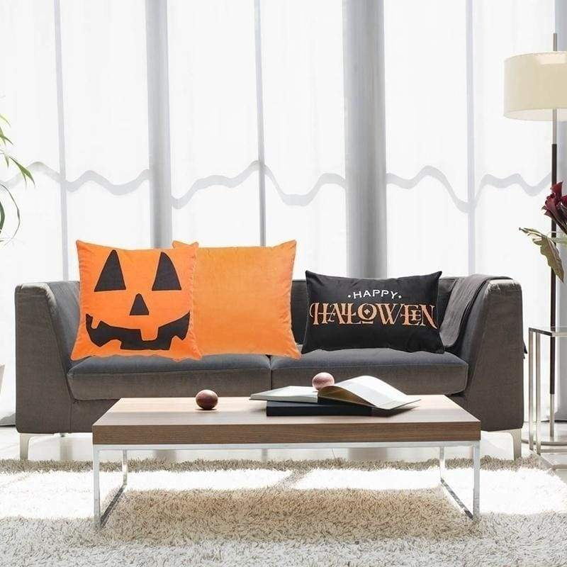 34 Pattern 18*18Inch Halloween Pillow Cases Linen Sofa Pumpkin Ghosts Cushion Cover Home Decor