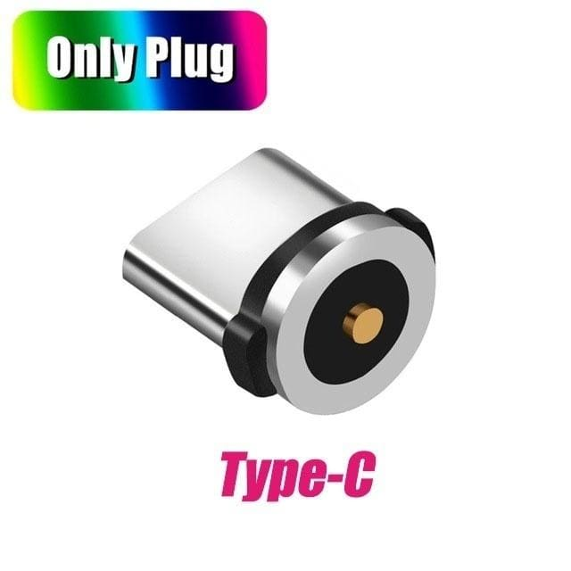 1/2/3PCS Magnetic Cable Plug Type C Micro USB Lightning Magnetic Charging Cable Adapter Magnet Charger Cord Plug