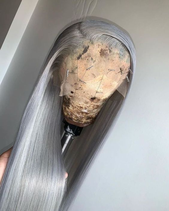 2020 New Gray Hair Wigs For African American Women Eayon Hair Wig Rack African Wigs Expensive Wigs Real Human Hair Wigs