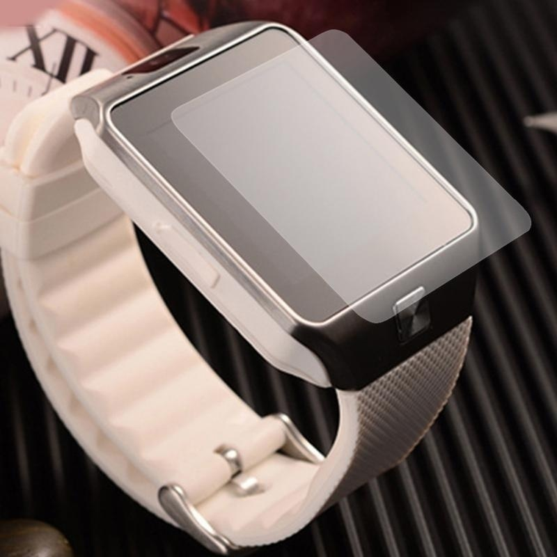 5PCS High Quality Ultra Thin Clear HD LCD Screen Protector For DZ09 Bluetooth Smart Watch Protective Film Phone-SH