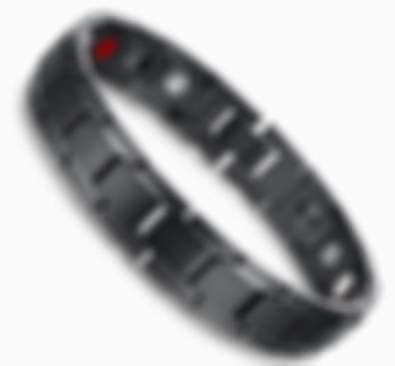Arosetop (About 8.66 inch) Therapeutic Energy Bracelet Magnetic Therapy - Pain Relief Magnets Therapy Healing Wristband for Men Women