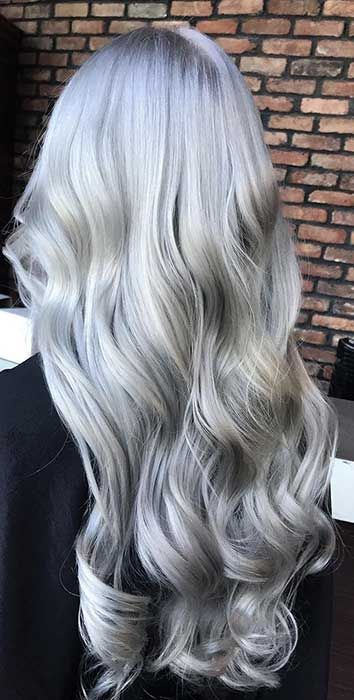 2020 Best Lace Front Wigs Gray Hair With Dark Roots Aqua Blue Hair Hazel Hair Color Brown Bun Wig