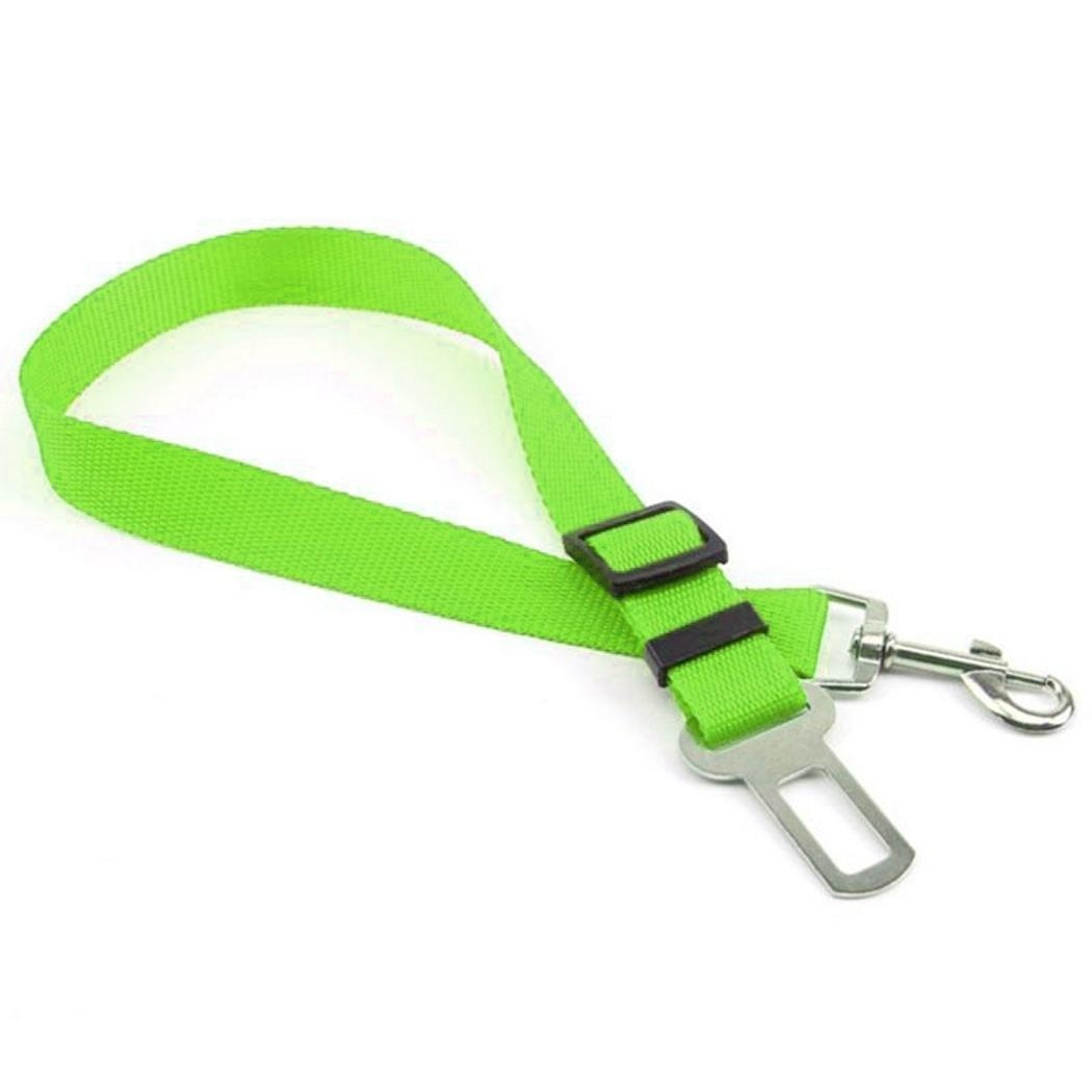 6 Colors Pet Car Safety Seat Belt Harness Restraint Lead Leash Clip Dogs Supplies Accessories for Travel