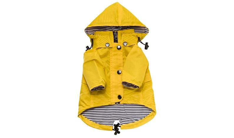 Yellow Dog Raincoat // Waterproof Dog Jacket for All Breeds // Raincoat for Dogs // Multiple Size // Designer Dog Clothes by Ellie Dog Wear