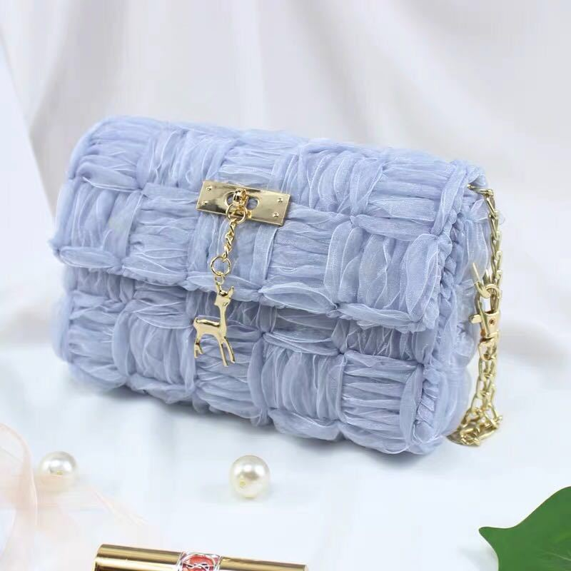 【🔥Buy 2 Free Shipping】DIY Ribbon Woven Chain Bag