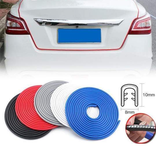 【HOT SALES】 NEW UNIVERSAL CAR DOOR SIDE EDGE PROTECTION STRIPS