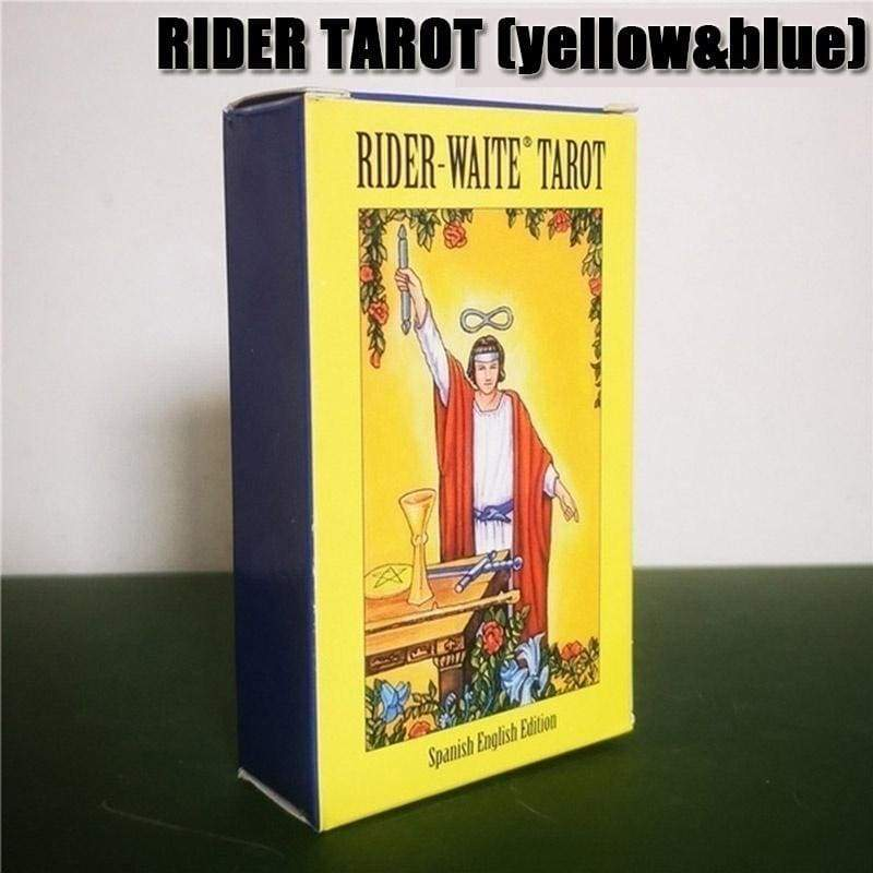 New 12 Styles Magical Tarot English Edition Board Game  Mysterious Tarot Family Party Cards Game