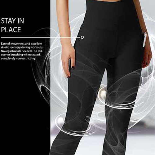 High Waisted Yoga Leggings with Pocket